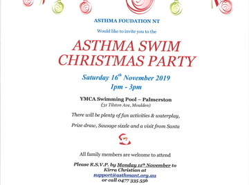 Asthma Swim Christmas Party
